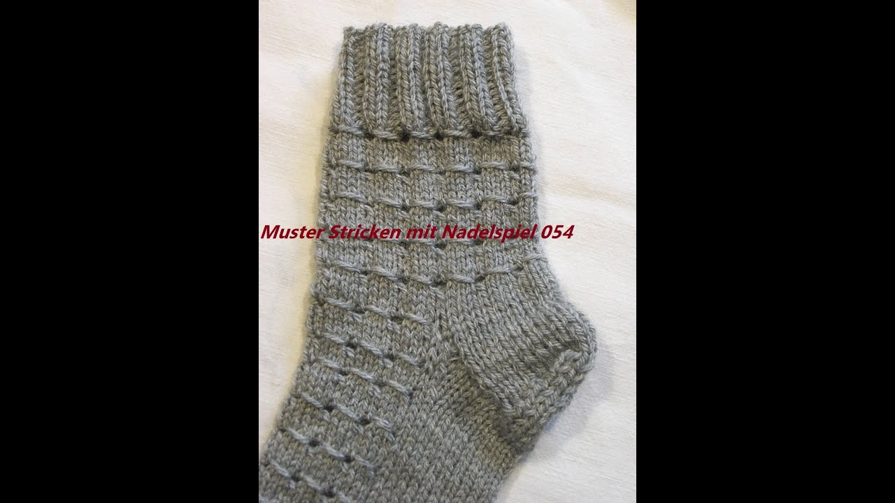 muster stricken mit nadelspiel stricken lernen muster f r pullover socken m tze tutorial kreativ. Black Bedroom Furniture Sets. Home Design Ideas