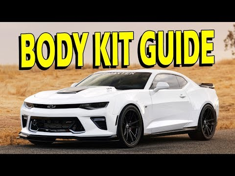 How To: 2016/2017 Camaro SS GM Body Kit (Body Accessory Trim Package) Install Guide
