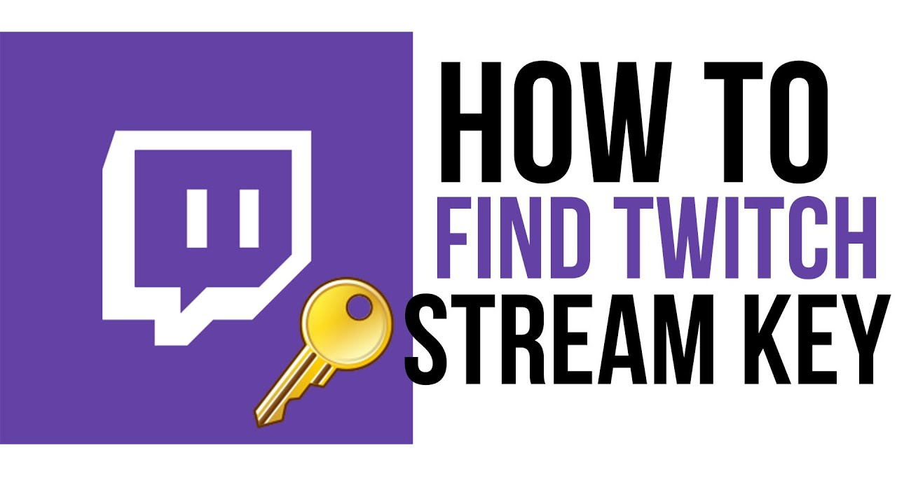 how to find stream key