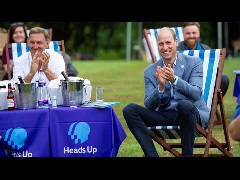 Prince William hosts
