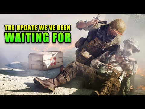 Massive Battlefield V Update - Visibility, Leaning, Healing & More!