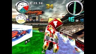 Hydro Thunder - Gameplay PSX (PS One) HD 720P (Playstation classics)