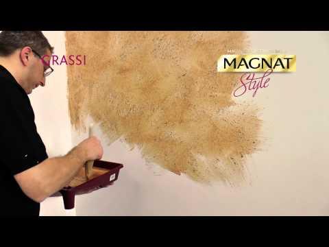Efekt przetartego tynku - Grassi Magnat Style - film instruktażowy