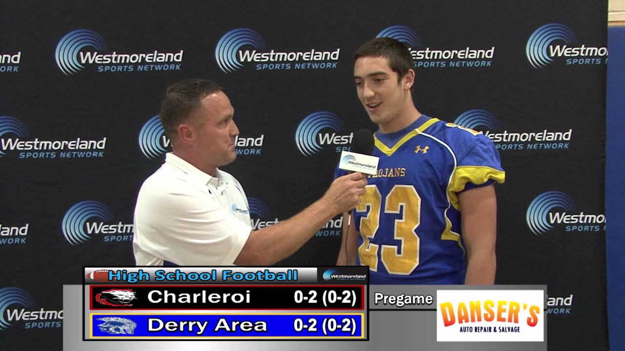 Derry Area Rb T J Balega Interview 9 12 14 Youtube