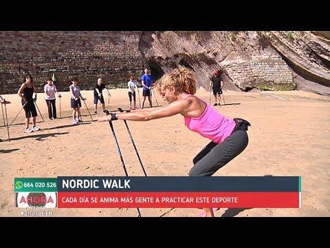 Nordic walk, un deporte que viene del esquí de fondo
