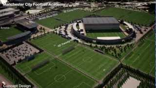 City Football Academy: Fly-through