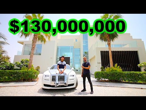 Meet Dubai's RICHEST Kid , $130 million Mansion (17 years old)
