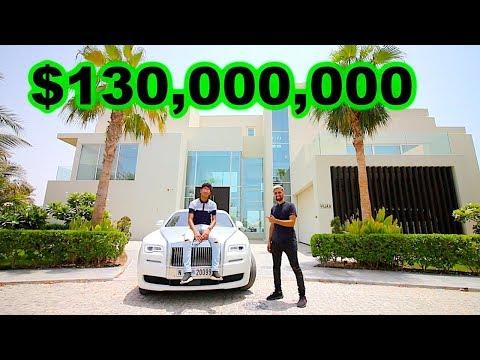 Meet Dubai's RICHEST Kid , $130 million Mansion (17 years old)