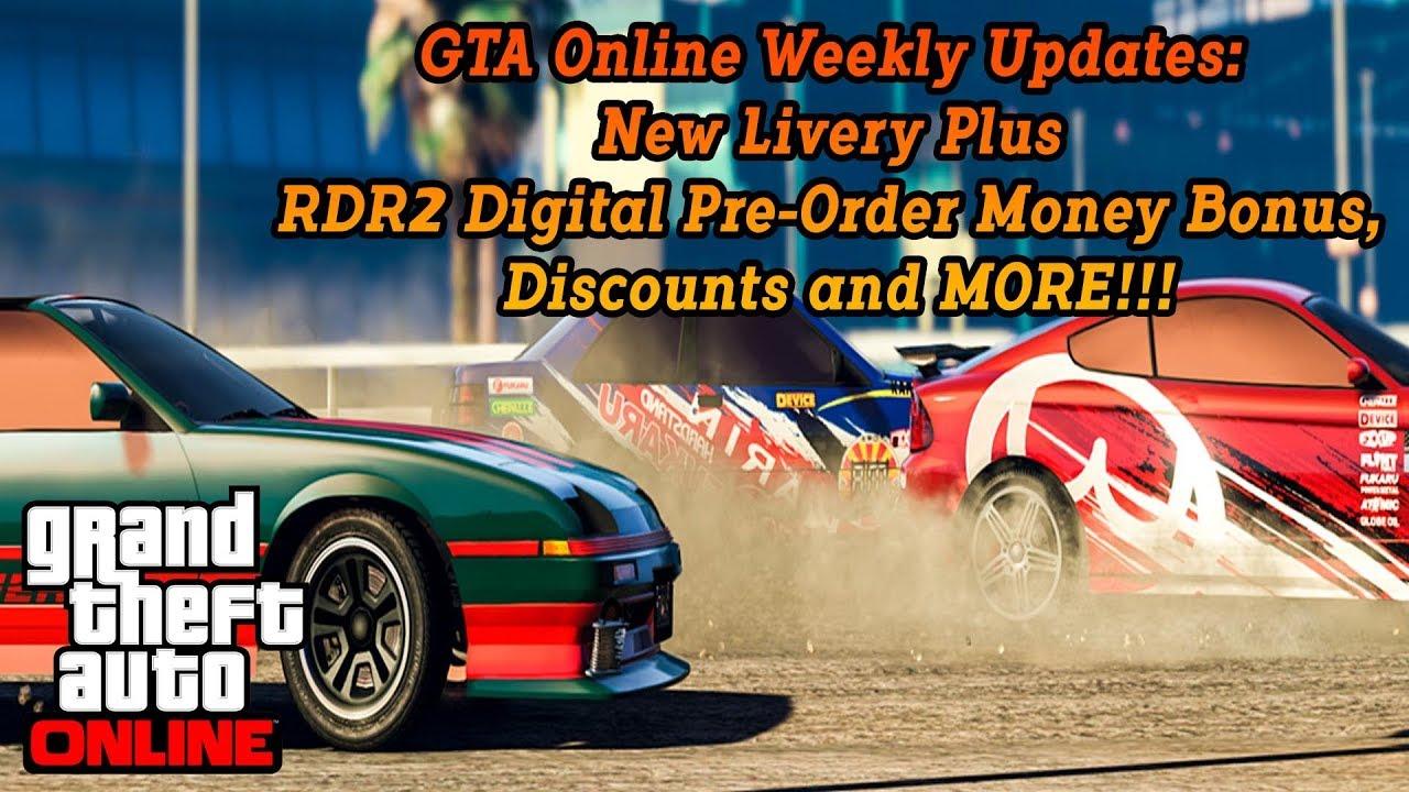 gta online weekly updates