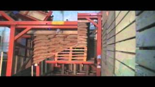 Symach / De Feijter palletiseermachine / palletizer