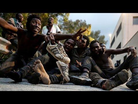 Intrusion massive de migrants à Ceuta