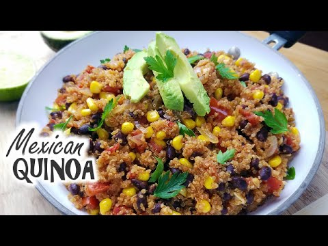 One Pan Mexican Quinoa | Healthy Meal Prep What's For Din'? Courtney Budzyn Recipe 61