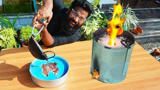 Kinetic Sand Metal Casting Video | M4 TECH |