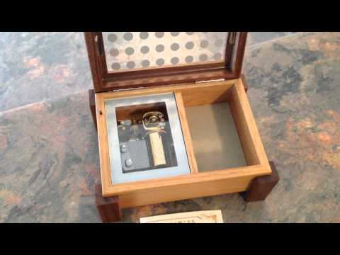Japanese Musicbox from Otaru, Hokkaido playing music from Kiki's Delivery Service movie