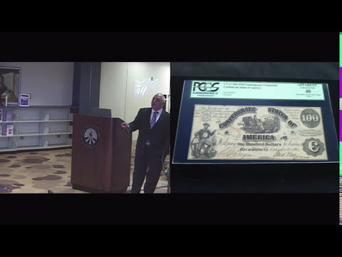 Currency of the Civil War Era and Depictions of Slavery