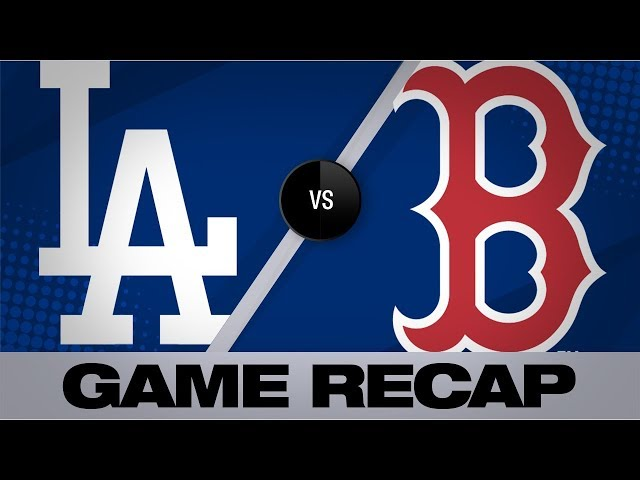 Dodgers rally in 12th to defeat the Red Sox | Dodgers-Red Sox Game Highlights 7/14/19