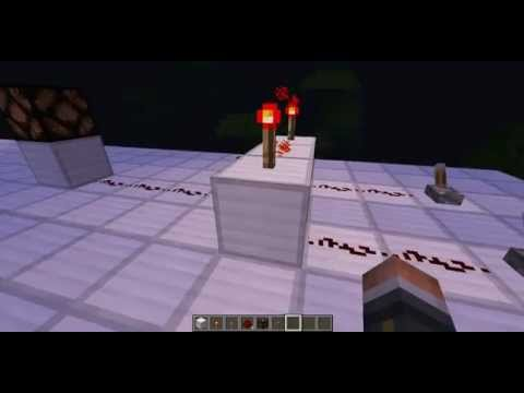 Tuto minecraft redstone portes logiques youtube for Porte logique