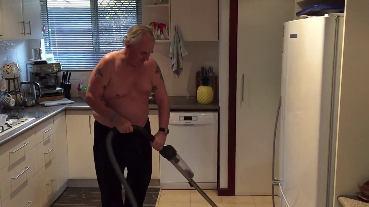 Just The Old Man Vacuuming Youtube