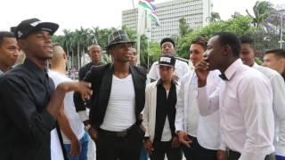 Colombie Cali Improvisation de rappeurs colombiens / Colombia Cali Colombian rappers