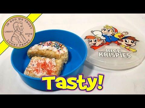Easy-Bake Kellogg's Rice Krispies Snack Shoppe Treats Maker, 2002 Hasbro Toys