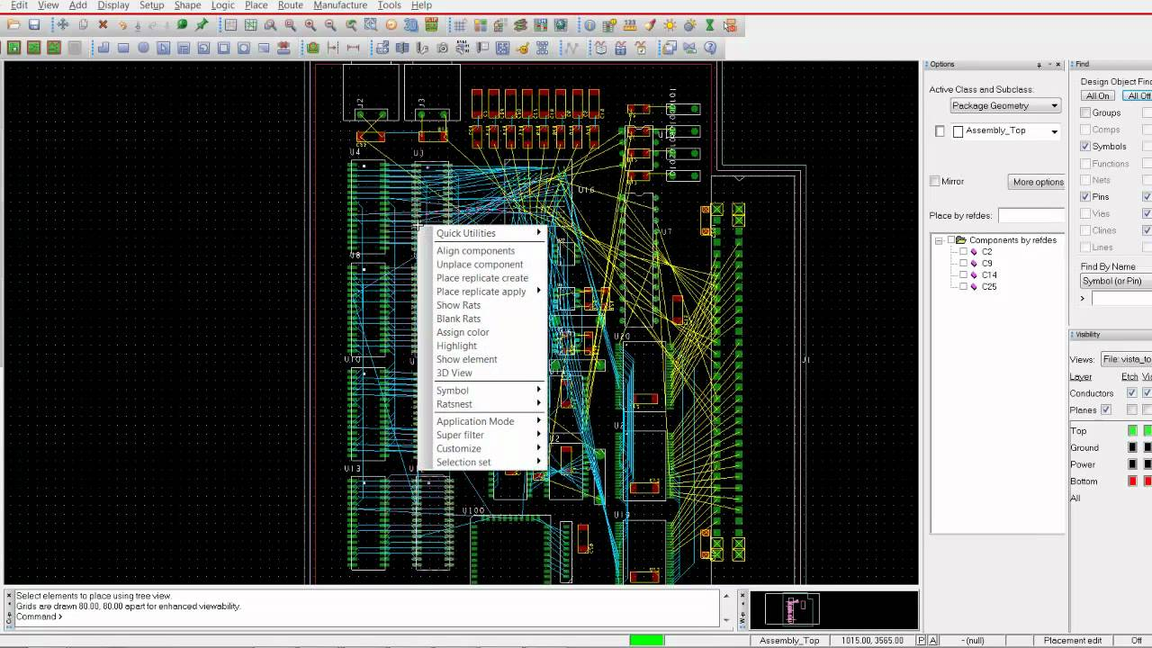 Start your first pcb design in orcad.