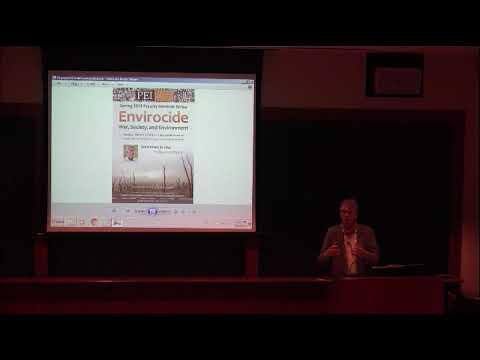 "PEI Faculty Seminar: ""Environcide: War, Society, and Environment"""