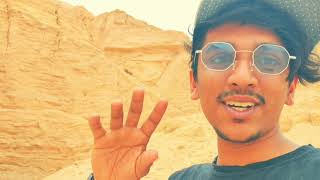 Saudi travelling mode..... evening vibes.... Heet cave... excellent experience...
