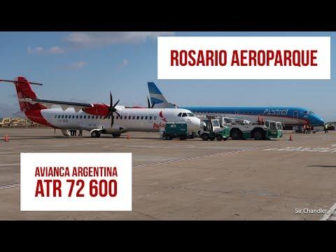 Vuelo Avianca Argentina de Rosario a Aeroparque