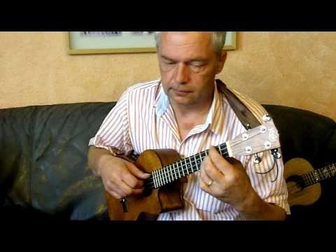 Comme d'habitude / My way / A mi manera - ukulele instrumental