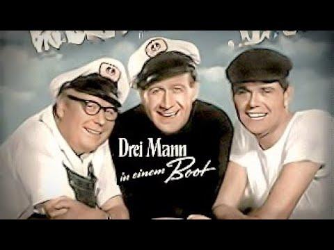 3 Mann In Einem Boot