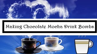 Making Fizzy Hot Chocolate|  Frozen Chocolate | Coffee Drink Bombs | Jen Spice Recipe Included!