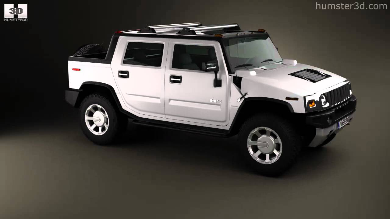 Hummer h2 sut 2011 by 3d model store humster3d youtube hummer h2 sut 2011 by 3d model store humster3d vanachro Image collections