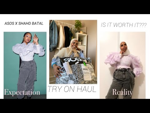 SHAHD BATAL X ASOS UNBOXING + TRY ON HAUL | IS IT WORTH IT?? | MODEST FASHION