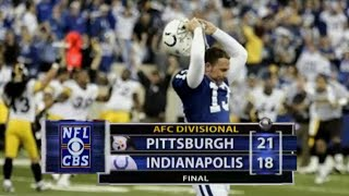 Big Ben SHOCKS Peyton Manning | 2005 AFC Divisional Round | NFL Full Game Flashback Highlights