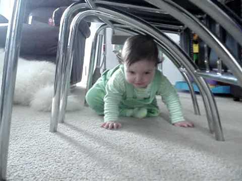 Gaelle's crawling