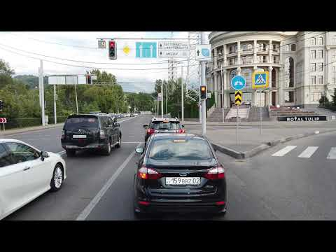 Almaty Street and Roads. (Kazakhstan)