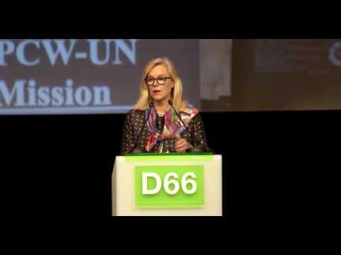Jubileumcongres D66 - Sigrid Kaag
