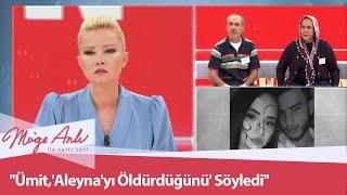 Ümit, Aleynayı öldürdüğünü söyledi - Müge Anlı İle Tatlı Sert 9 Eylül 2020