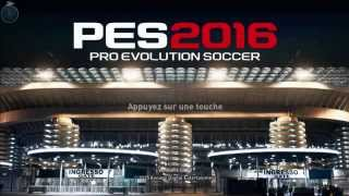Pes 2016 high quality + full screen