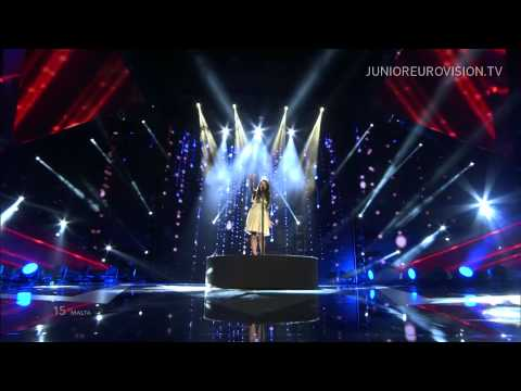 Federica Falzon - Diamonds (Malta) LIVE Junior Eurovision Song Contest 2014