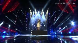 Federica Falzon - Diamonds (Malta) LIVE Junior Eurovision Song Contest 2014