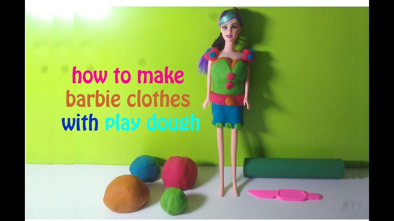 99 Gaya Baju Barbie Dari Play Doh Paling Unik