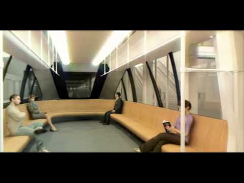 Animation of driverless, fully automated metro Brussels (Pulsar project)