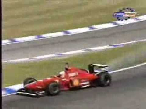 F1 bad luck : Eddie Irvine 96'