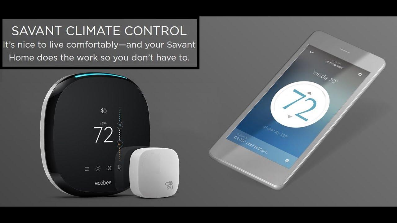 Ecobee4 The Best Smart Thermostat Supports Amazon Alexa