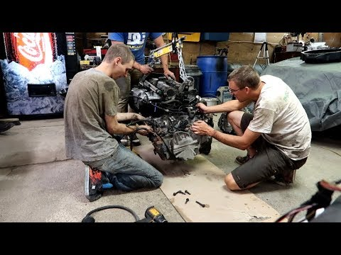 Volvo V70R Transmission Swap / Solenoid Replacement