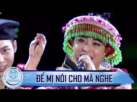 'Để Mị Nói Cho Mà Nghe' - Hoàng Thuỳ Linh - Tiết mục mở màn mãn nhãn cho đêm chung kết Miss World VN