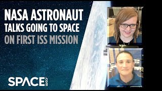 NASA Astronaut Talks Going to Space on First Mission