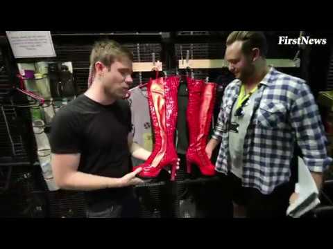 Behind the scenes at Kinky Boots The Musical!