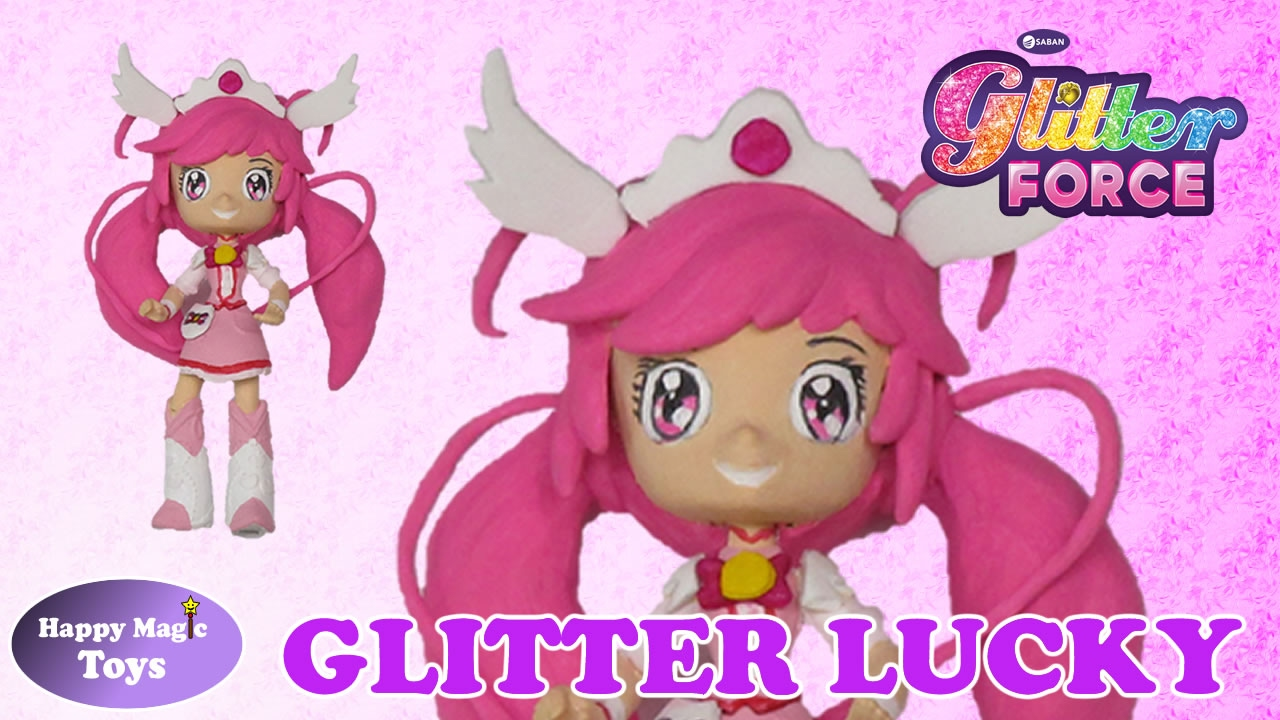how to draw glitter lucky